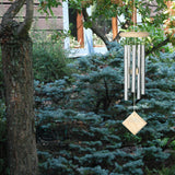 Woodstock Chimes of Mars - Silver, White Wash DCW17