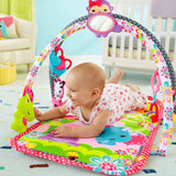 Fisher Price 3-in-1 Musical Activity Gym - Woodland / Pink