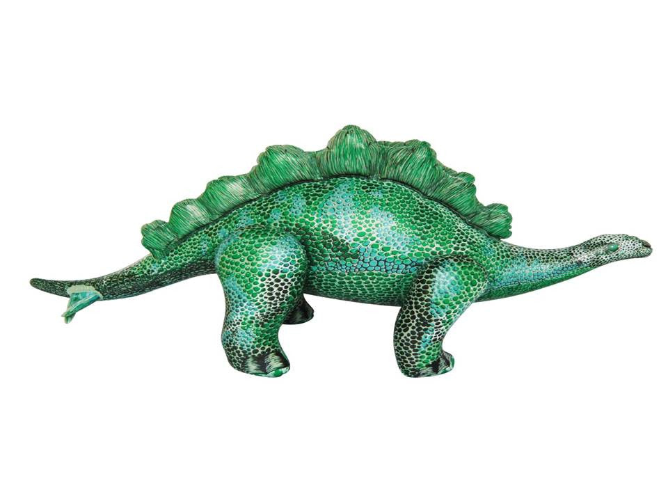 Jet Creations Inflatable Stegosaurus -- Green
