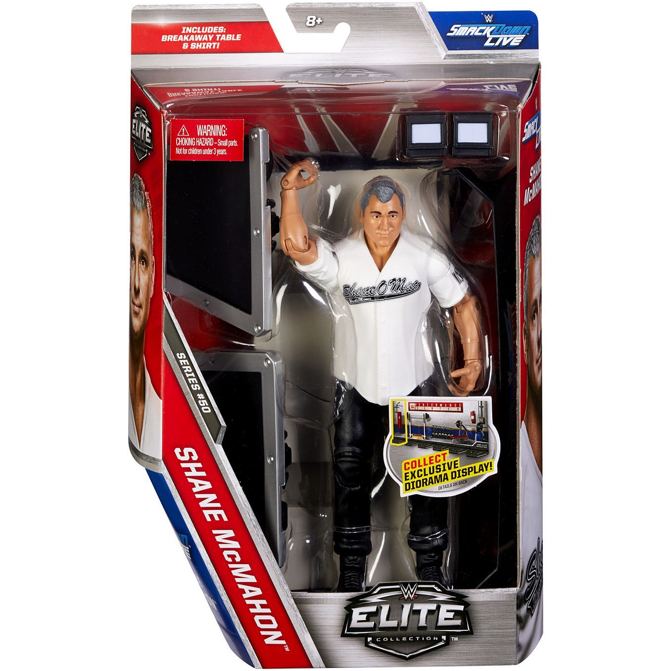 Mattel WWE® Shane McMahon® Elite Collection Action Figure DXJ24