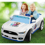 Fisher Price Power Wheels® Smart Drive™ Disney Frozen Ford Mustang