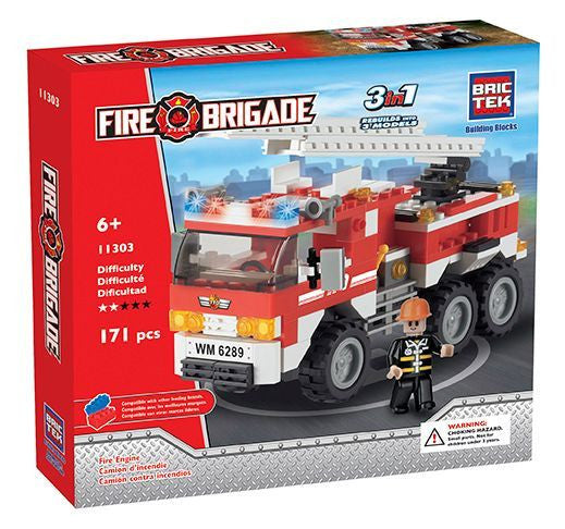 Brictek Fire Engine 11303