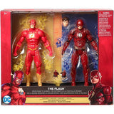Mattel DC Comics™ Multiverse Justice League™ The Flash™ From Page To Screen 2-Pack Figure FHM13