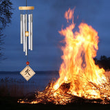 Woodstock Feng Shui Chime - Elements, Natural, Fire FSNFI