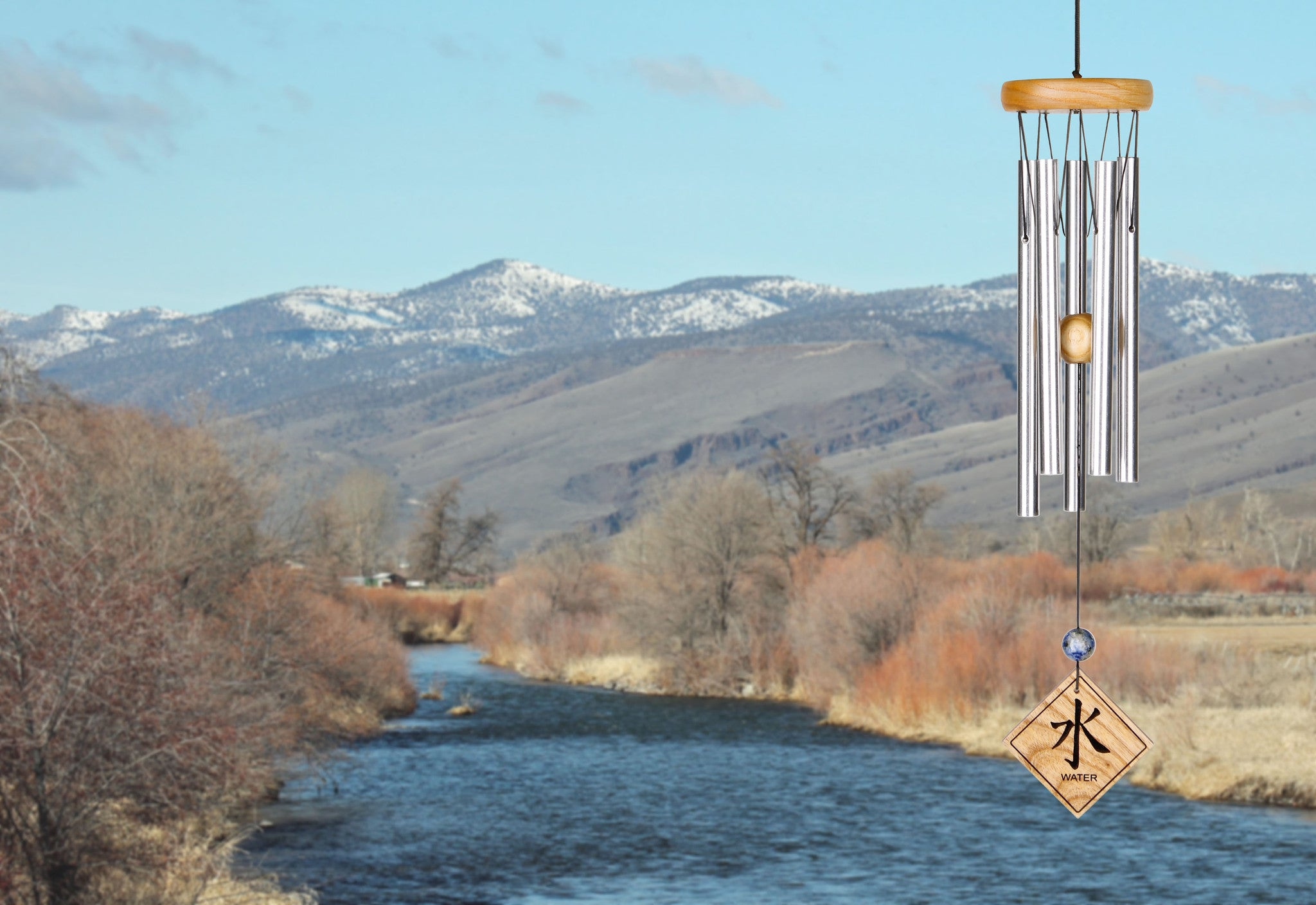 Woodstock Feng Shui Chime - Elements, Natural, Water FSNWA