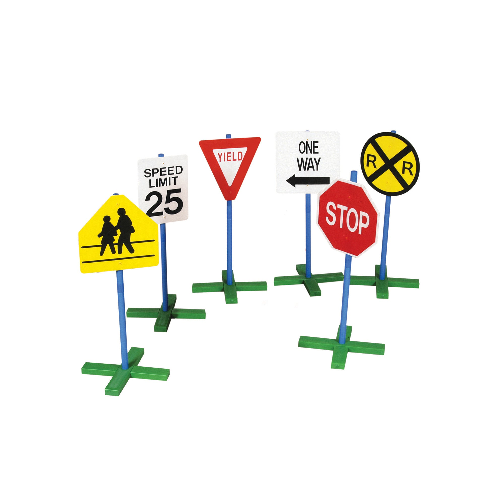 Guidecraft Drivetime Signs – Set of 6 G3060