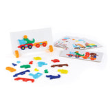 Guidecraft Animal Train Sort & Match 44 pieces G5092
