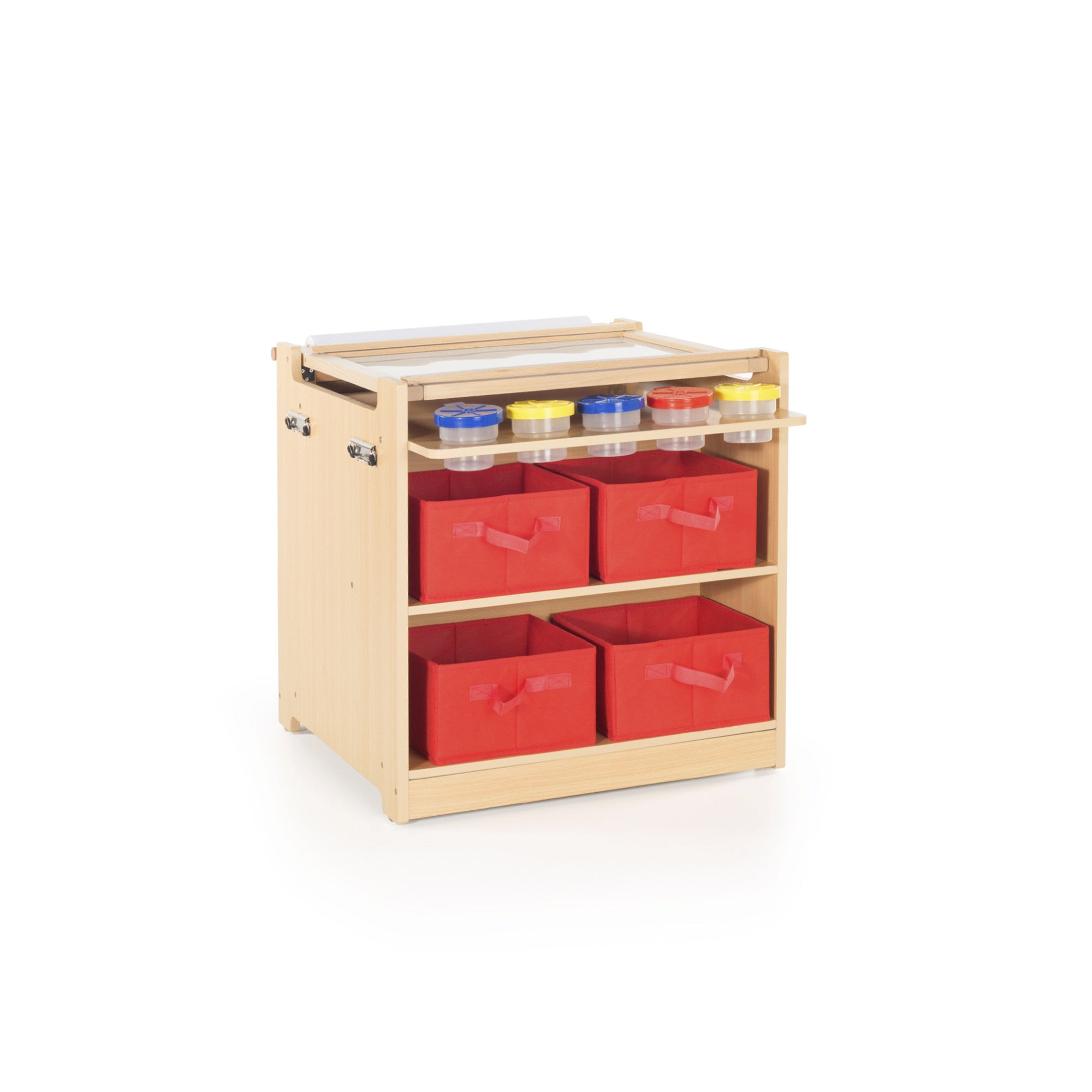 Guidecraft Desk To Easel Art Cart G51089 You Are My
