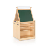 Guidecraft Desk to Easel Art Cart G51089