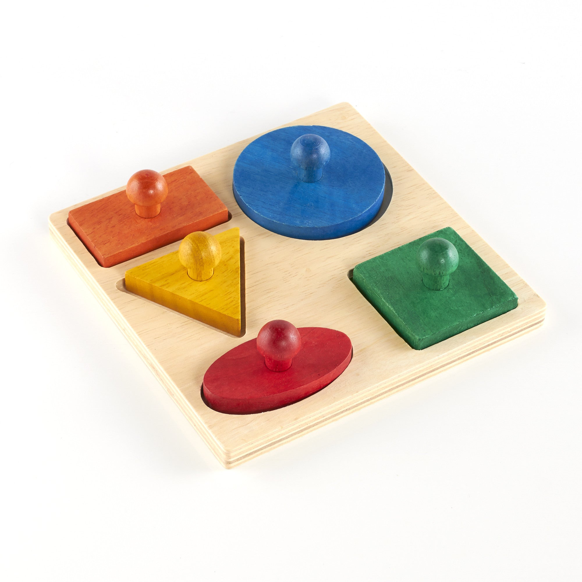 Guidecraft Geometric Puzzle Board 5 Pieces G527