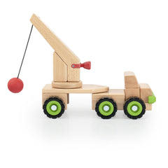 Block Science – Big Wrecking Ball Truck G7533