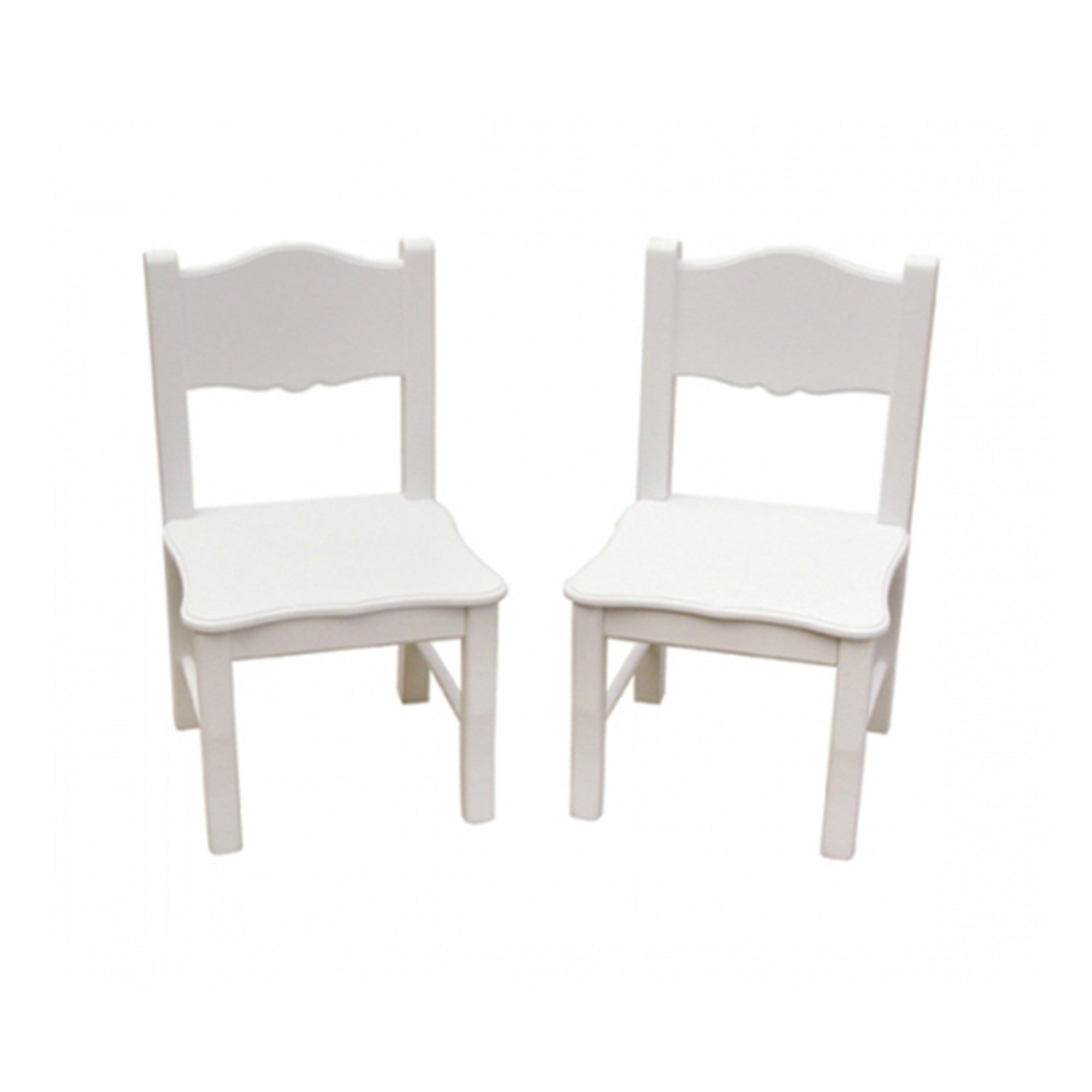 Guidecraft Classic White Extra Chairs G85703