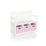 Guidecraft Classic White Storage Bench G85708