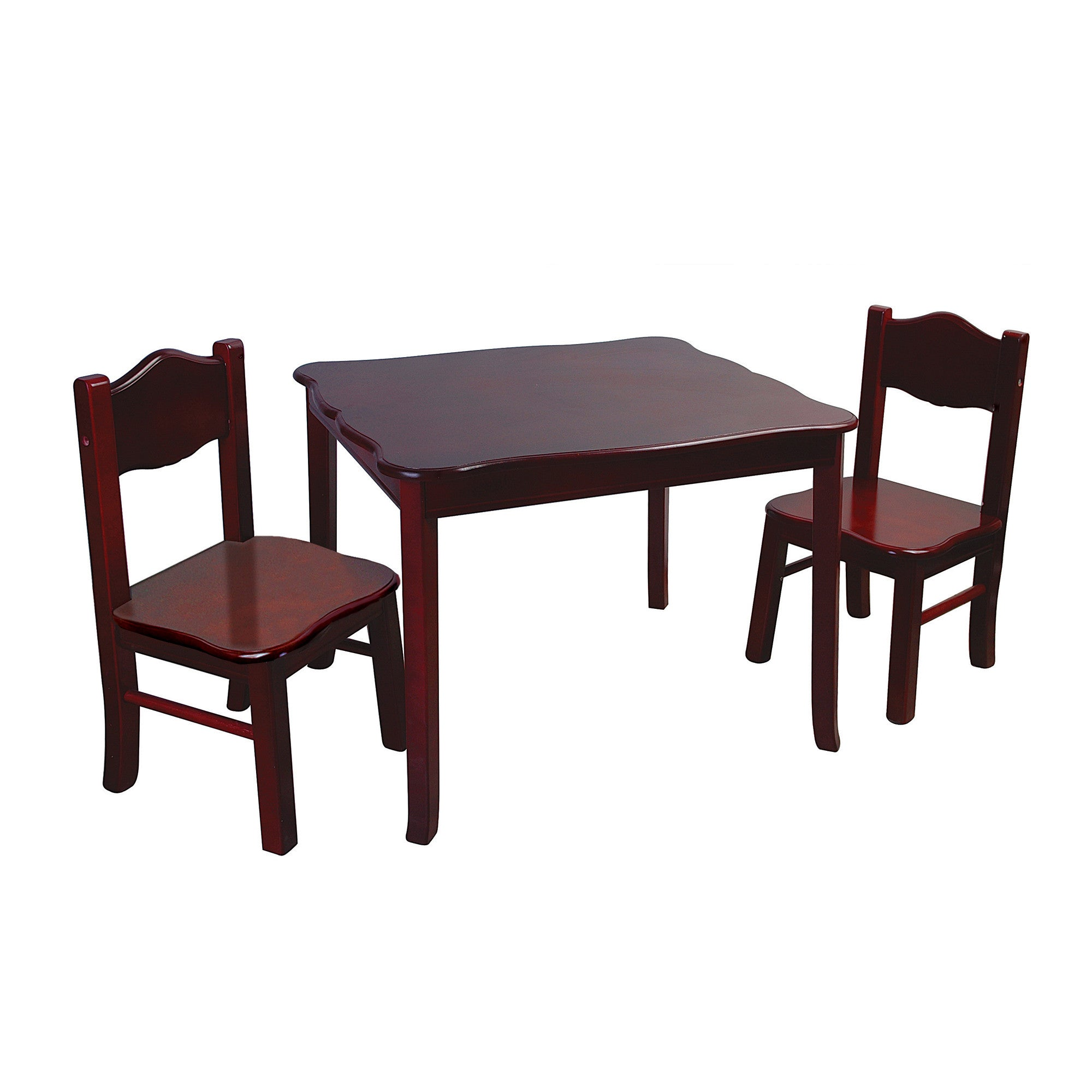 Guidecraft Classic Espresso Table & Chair G86202