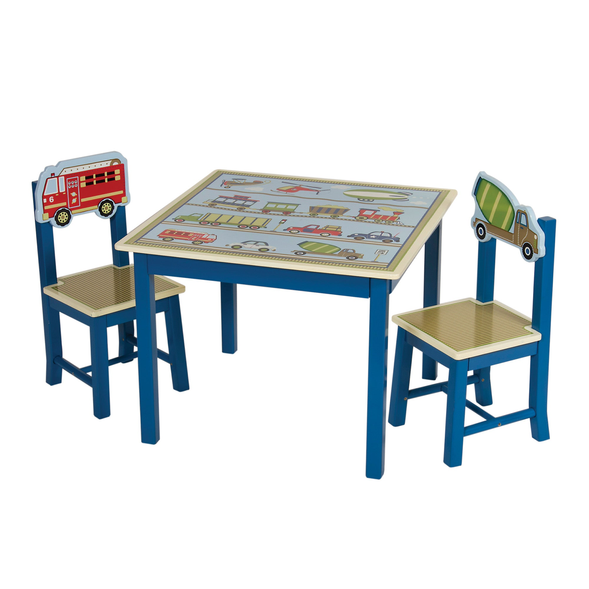 Guidecraft Moving All Around Table & Chairs Set G86502