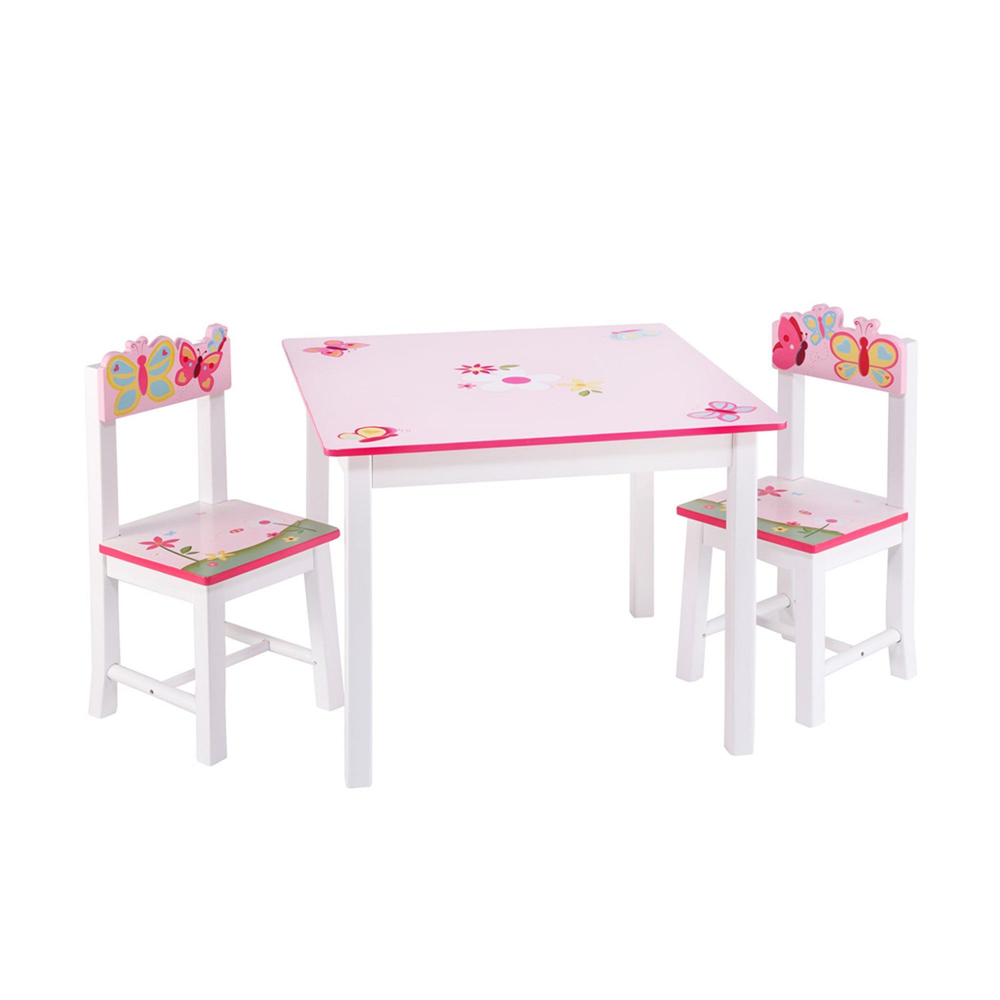 Guidecraft Butterfly Buddies Table & Chairs Set G86602