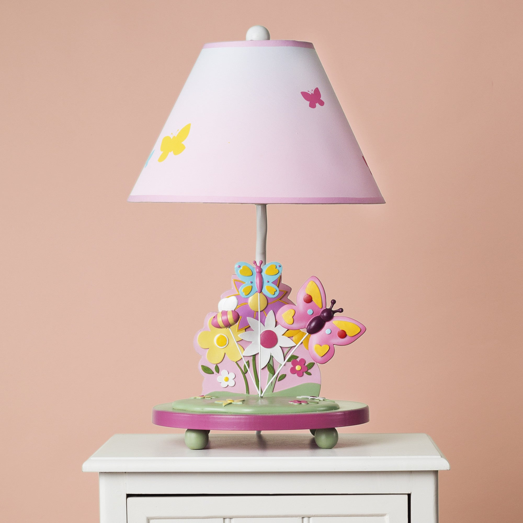 Guidecraft Butterfly Buddies Table Lamp G86607