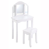 Guidecraft Expressions Vanity & Stool: White G87104