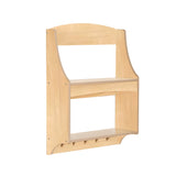 Guidecraft Expressions Trophy Rack: Natural G87205