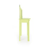 Guidecraft Vanity and Stool – Light Green G87405