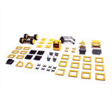 Guidecraft PowerClix® Construction 55 Pieces Vehicle Set G9460