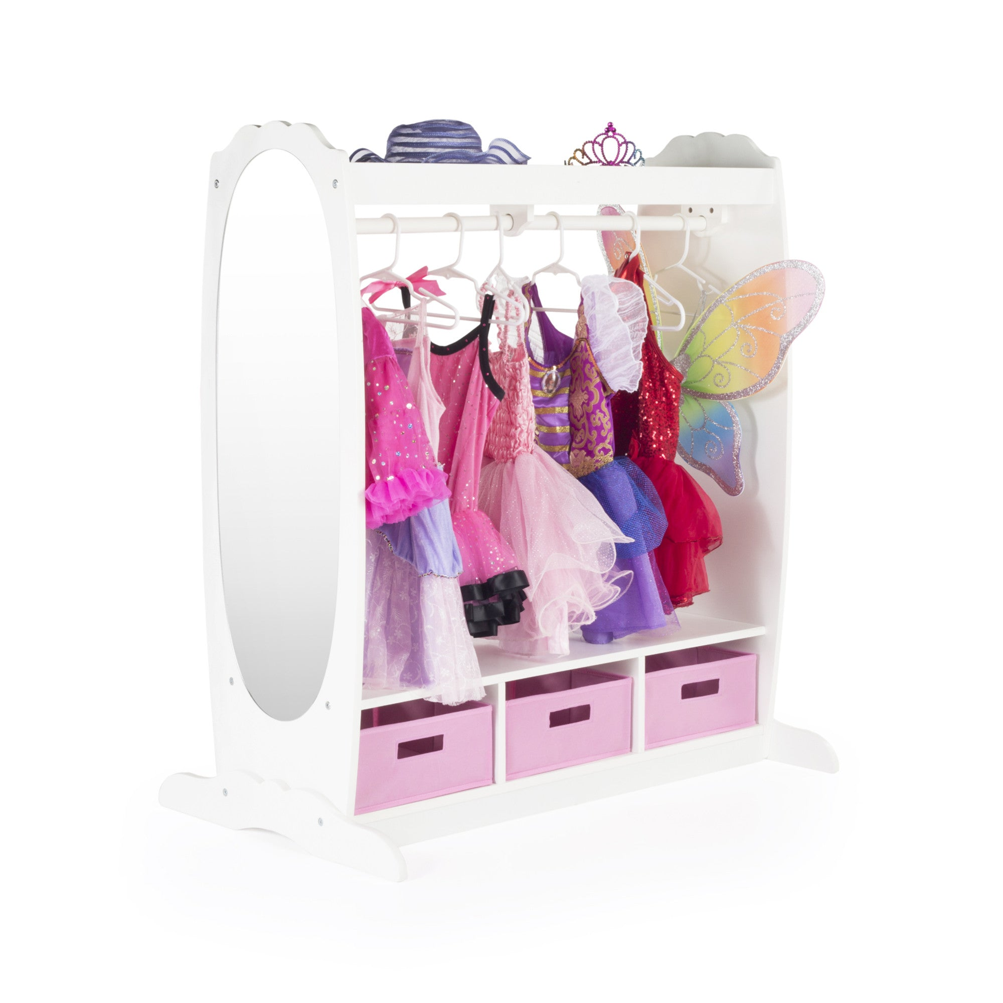 Guidecraft Dress Up Storage – White G98098