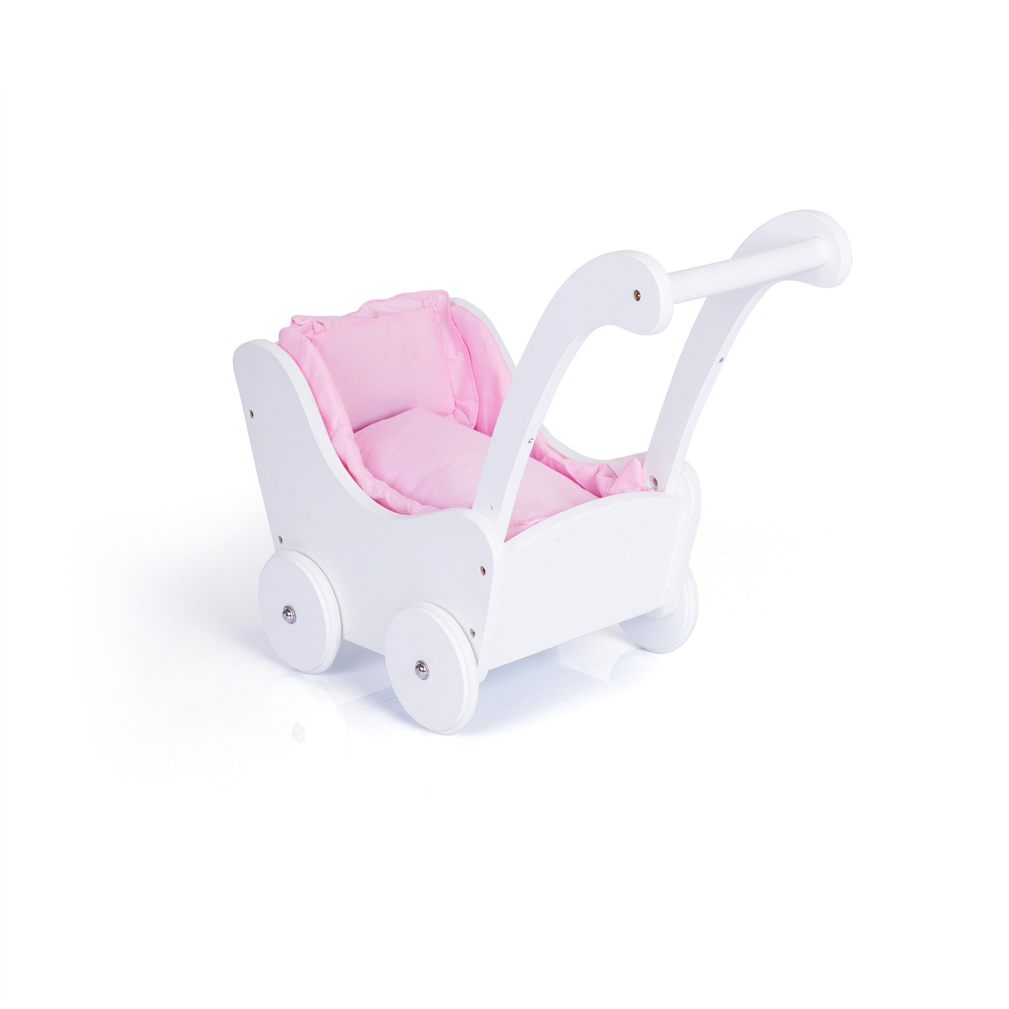 Guidecraft Doll Buggy – White G98124