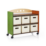 Guidecraft See and Store Rolling Storage Center G98305