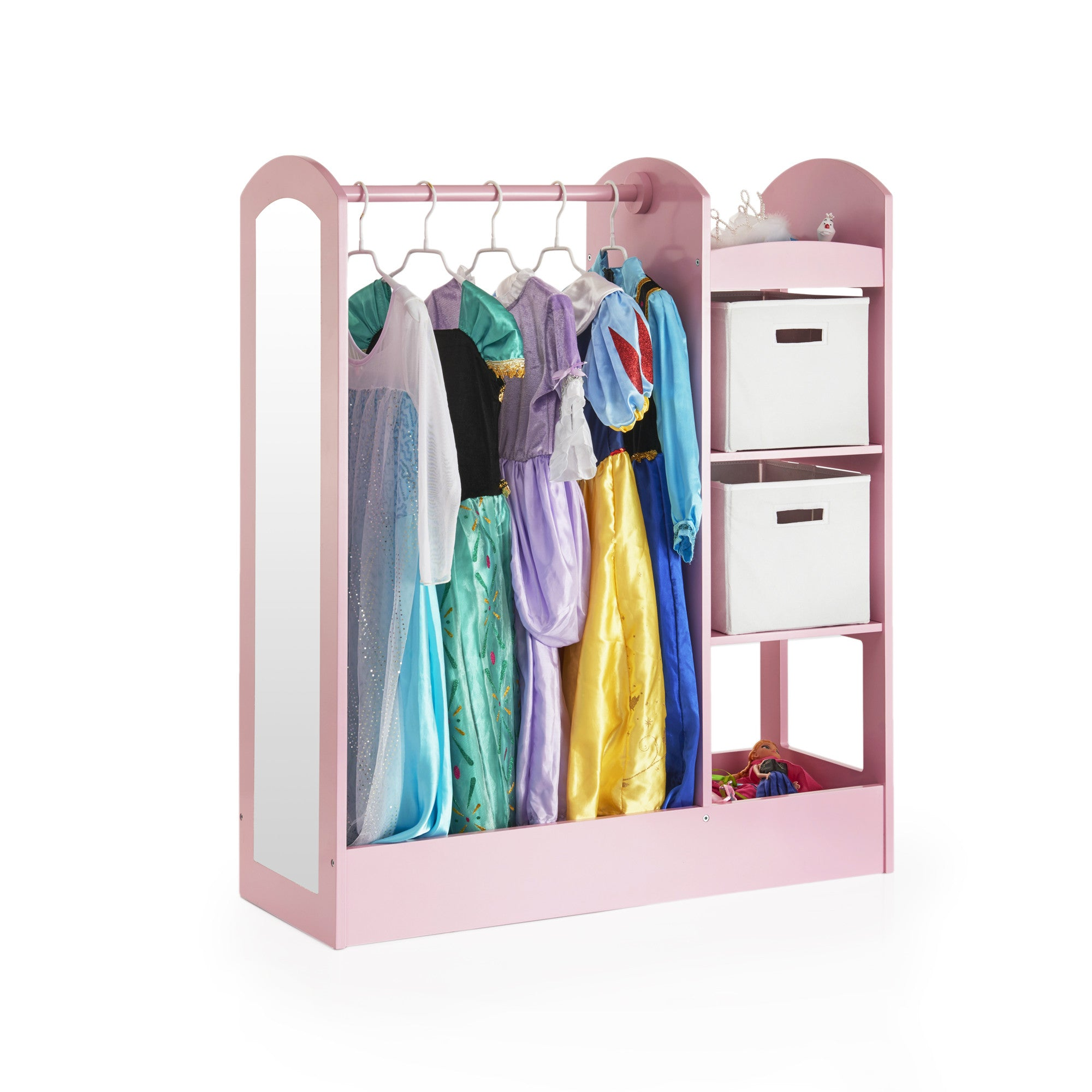 Guidecraft See and Store Dress Up Center – Pink G98403
