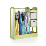 Guidecraft See and Store Dress Up Center – Light Green G98405