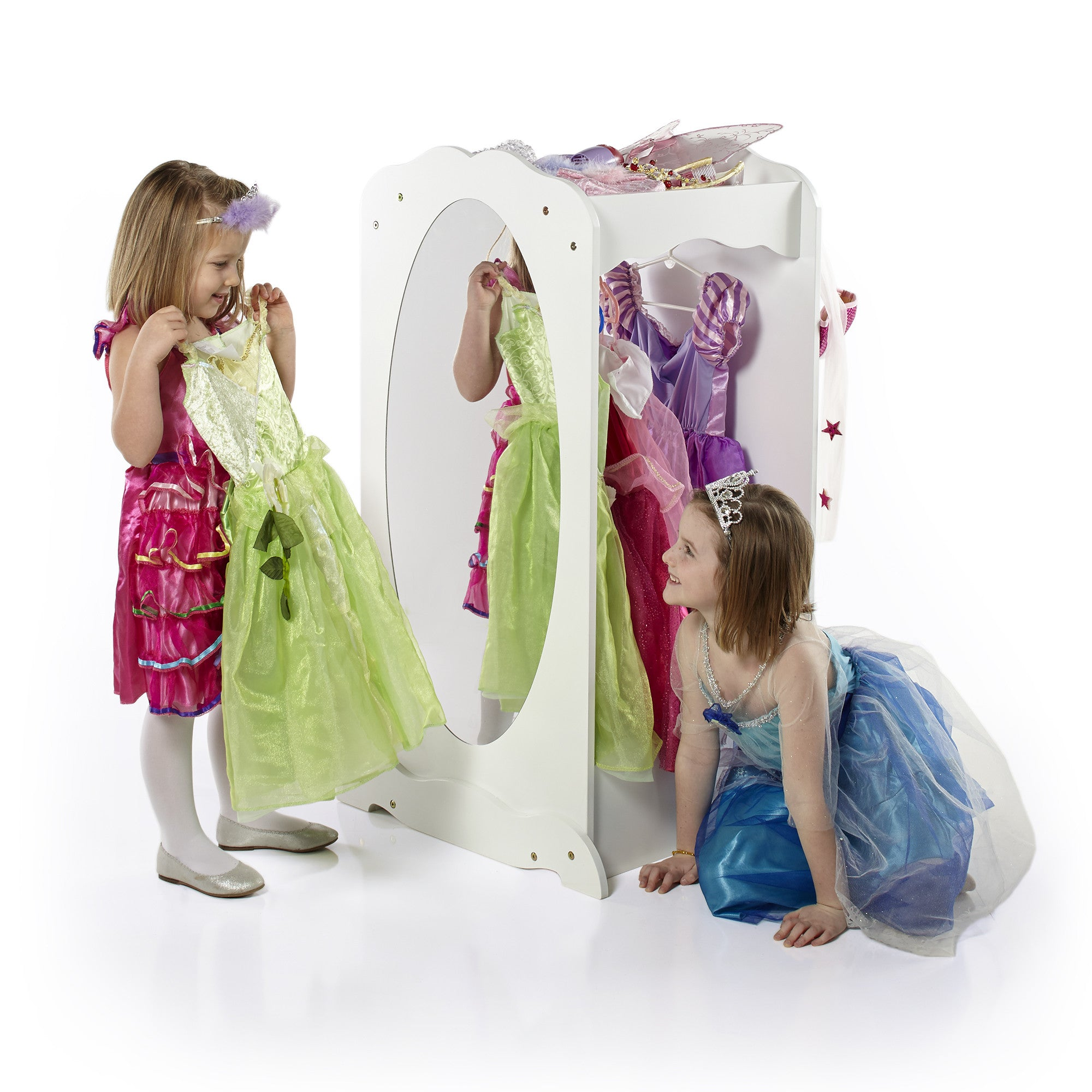 Merveilleux Guidecraft Dress Up Cubby Center U2013 White G99200