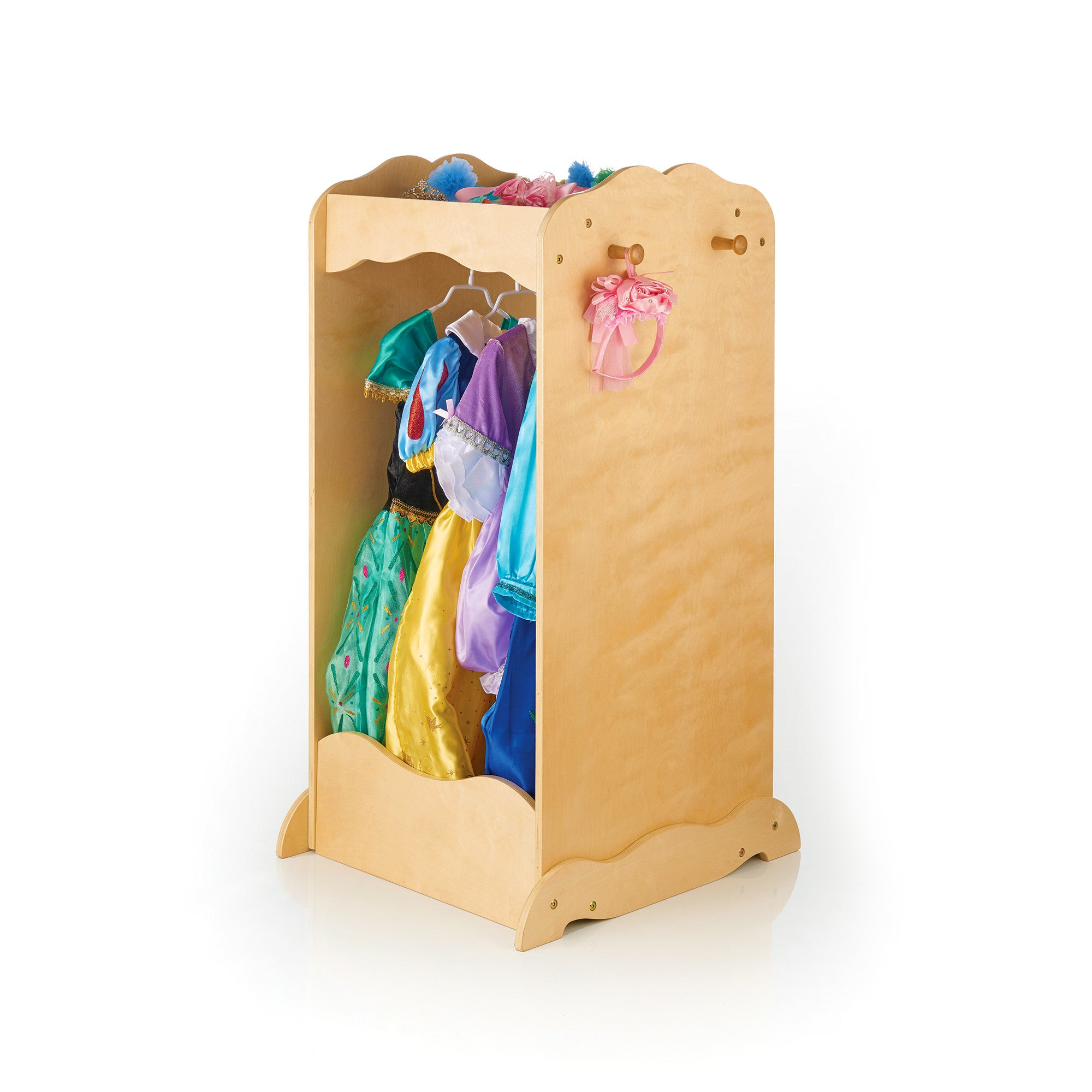 Guidecraft Dress Up Cubby Center – Natural G99202
