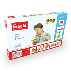 Creative Zone Goobi 104 - The Magnetic Construction Set