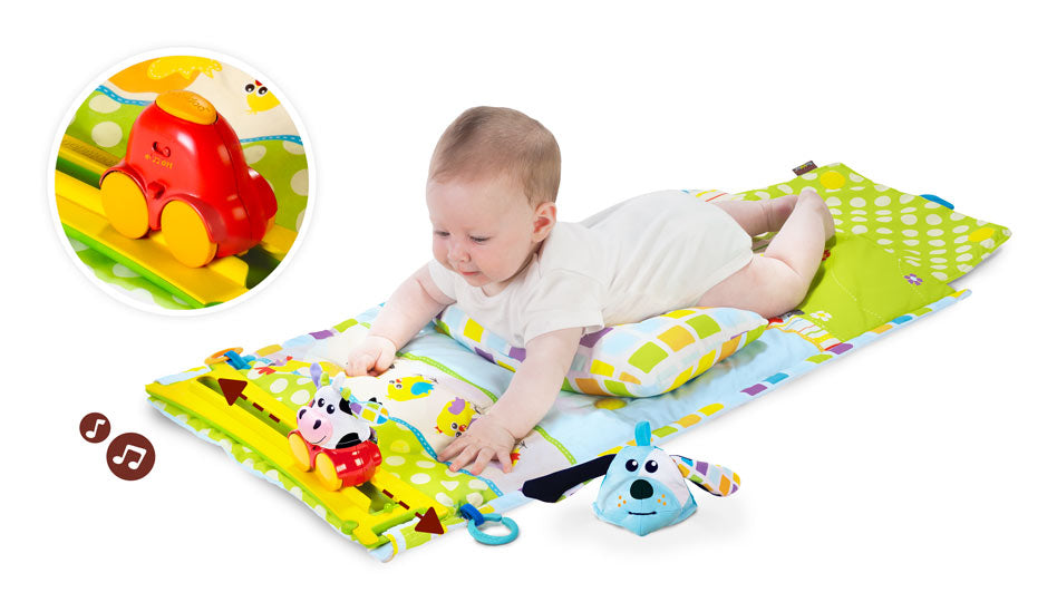 Yookidoo Gymotion Tummy Time Playland 40127