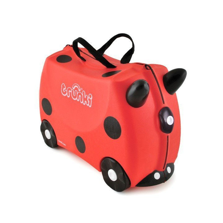 Trunki The Original Ride-On Suitcase - Harley Ladybird