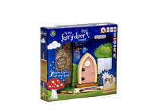 Irish Fairy Door Pink Arched FD554215