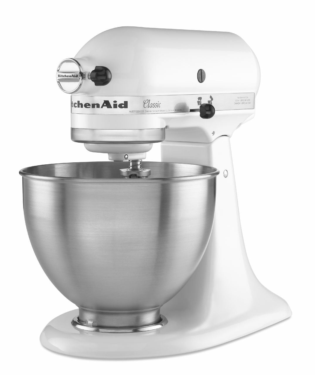 Kitchenaid Classic Series 45 Quart Tilt Head Stand Mixer kitchenaid 4.5 qt. tilt-head classis series stand mixer - white