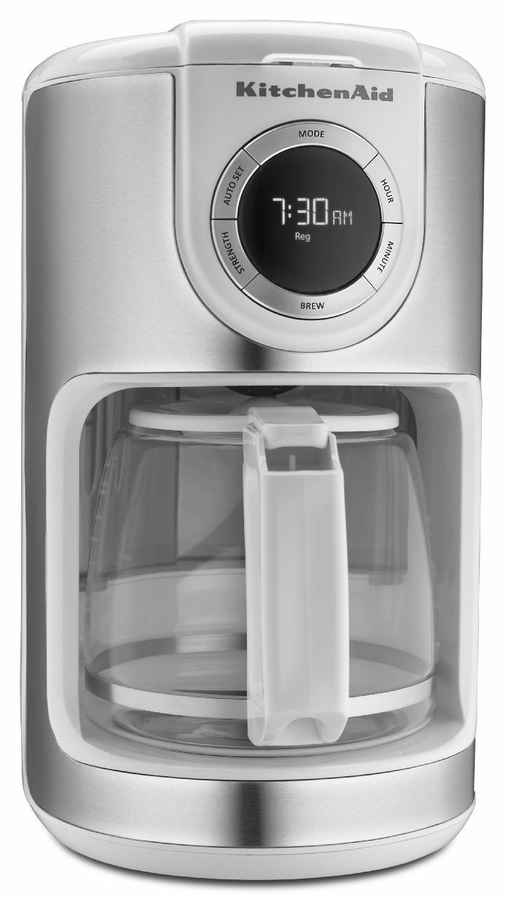 KitchenaidAid 12-Cup Glass Carafe Coffe Maker - White KCM1202WH