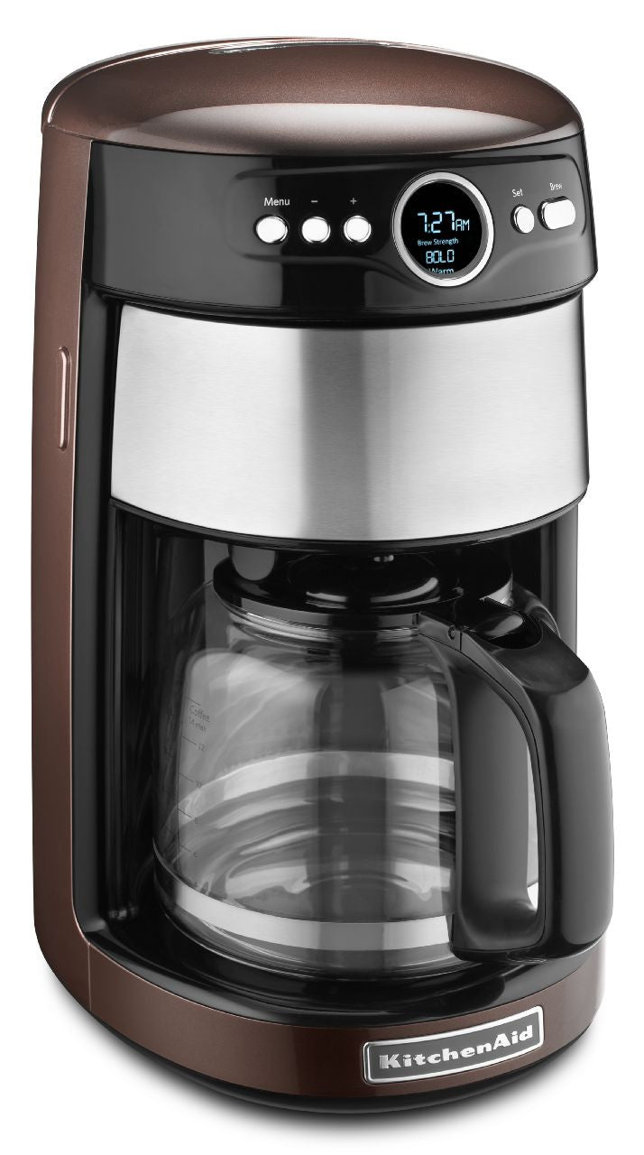 KitchenaidAid 14-Cup Glass Carafe Coffee Maker - Espresso ...