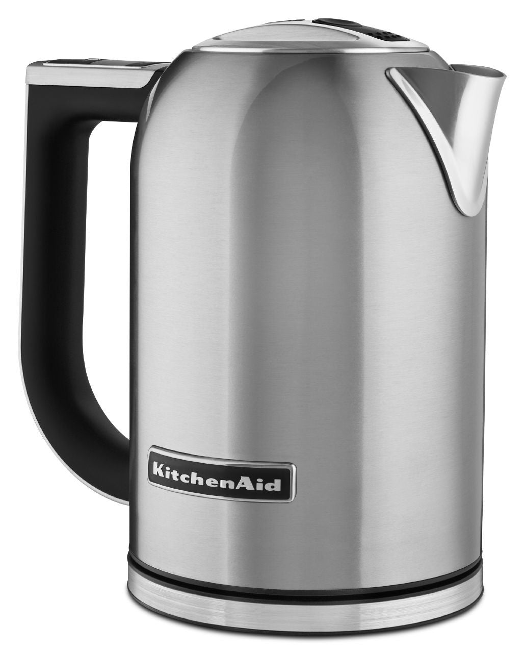KitchenaidAid 1.7 Liter Electric Kettle with LED display - Brushed Stainless Steel KEK1722SX