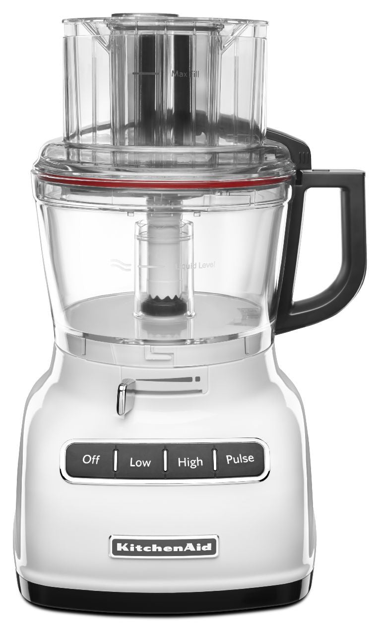 KitchenaidAid 9-Cup Food Processor with ExactSlice System - White KFP0933WH