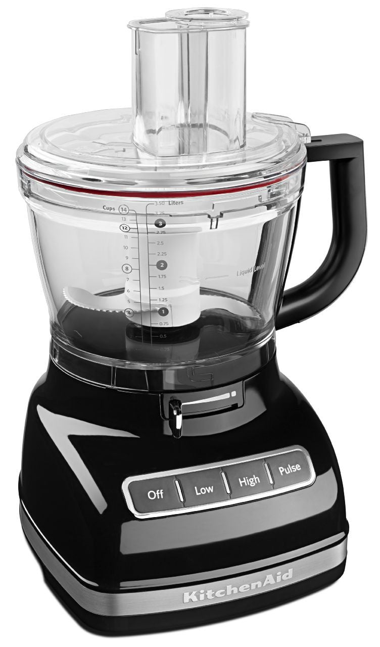 KitchenaidAid 14-Cup Food Processor with ExactSlice System - Onyx Black KFP1466OB