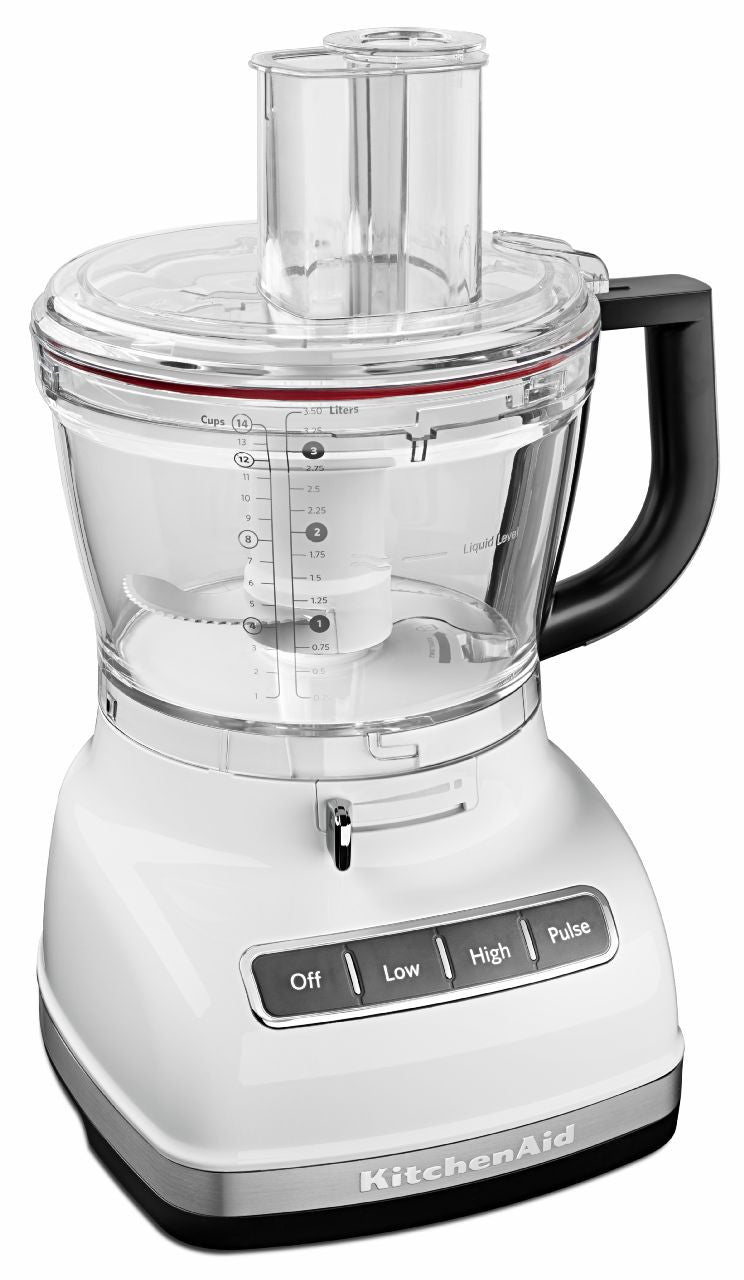 KitchenaidAid 14-Cup Food Processor with ExactSlice System - White KFP1466WH
