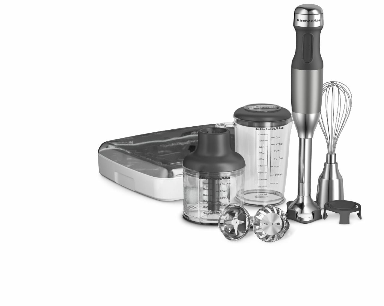 "Kitchenaid 5-Speed Hand Blender With Removable 8"" Blending Arm KHB2561"