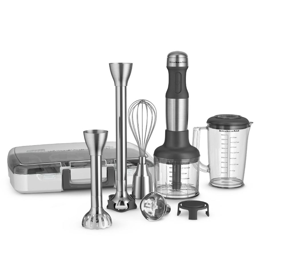 Kitchenaid 5 - Speed Hand Blender - Brushed Stainless Steel Cladding KHB2571SX