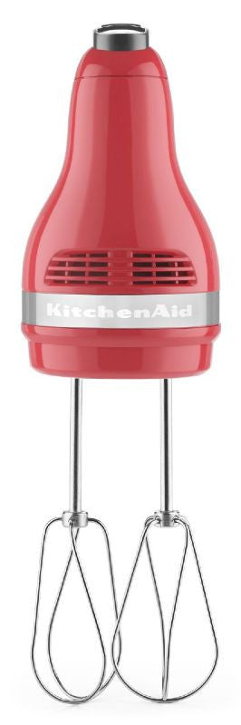 Kitchenaid 5-Speed Slide Control Ultra Power Hand Mixer - Watermelon  KHM512WM