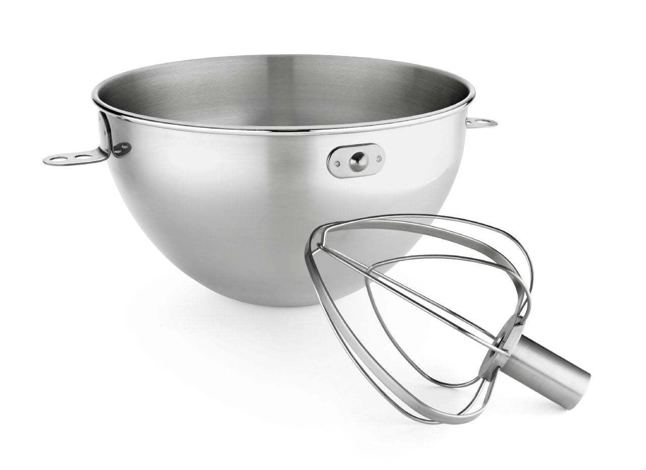 Kitchenaid 3-Qt. Bowl Stainless Steel & Combi-Whip KN3CW