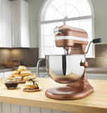 Kitchenaid 6 Qt. Professional 600 Series with Pouring Shield - Copper Pearl KP26M1XCE