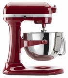 Kitchenaid 6 Qt. Professional 600 Series with Pouring Shield - Empire Red KP26M1XER
