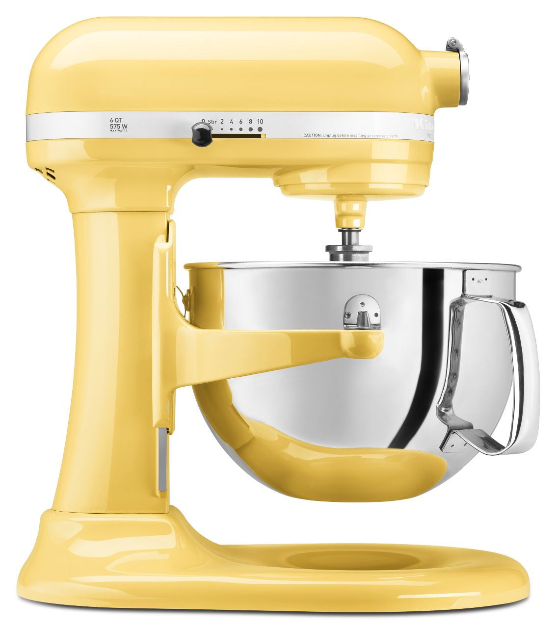 Kitchenaid 6 Qt. Professional 600 Series with Pouring Shield - Majestic Yellow KP26M1XMY
